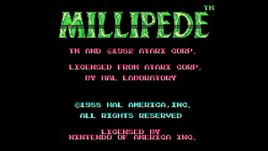 Millipede (NES) Game Hub