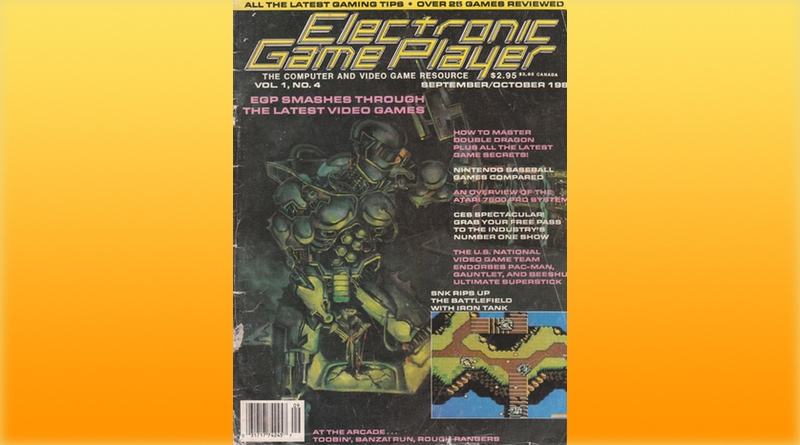September/October 1988 Issue Of Electronic Game Player
