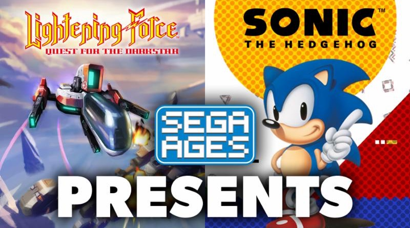 Sega Ages Sonic & Lightening Force Launched Today On Switch eShop