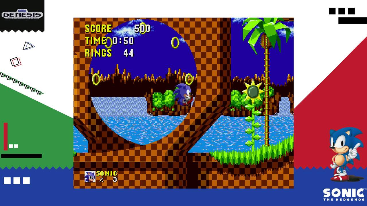 Sega Ages Sonic The Hedgehog Review Nintendo Times