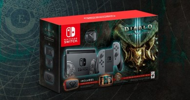 Diablo III: Eternal Collection Nintendo Switch Bundle Exclusively At GameStop