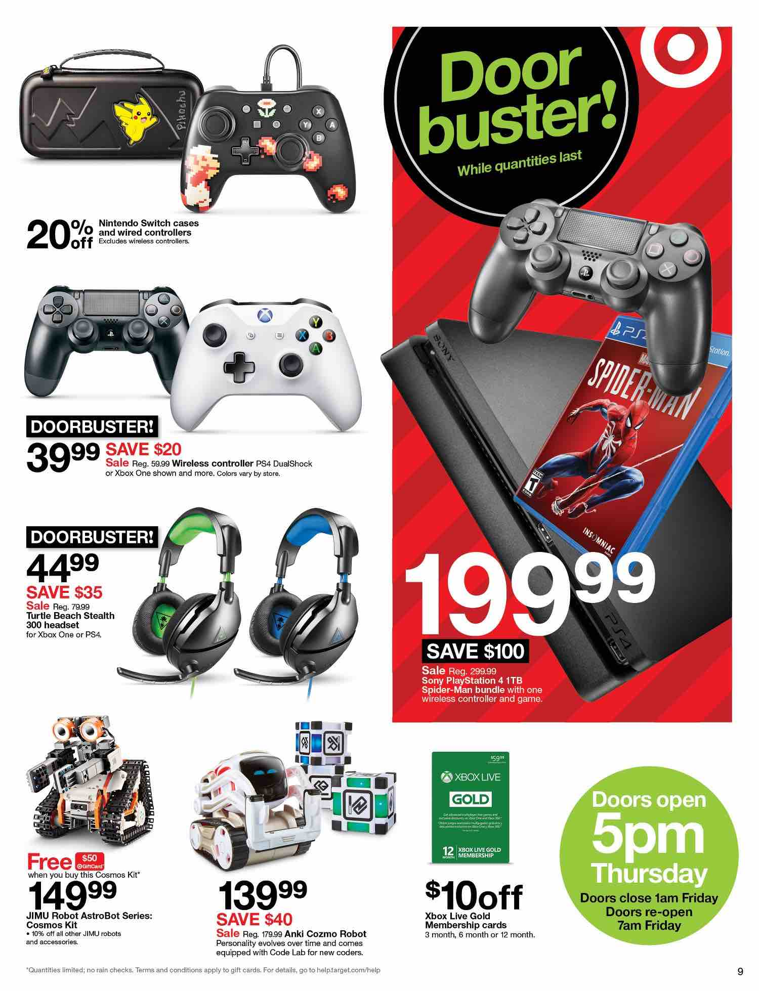 Target Black Friday Video Game Deals Include Free Mario Kart