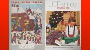 1988 Sears Wish Book & J.C. Penney Christmas Catalog