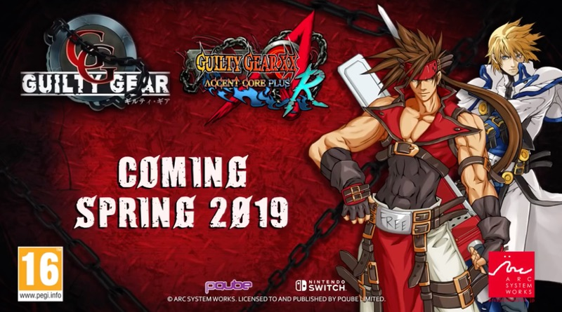 Guilty Gear 20th Anniversary Edition Comes To Switch This Spring