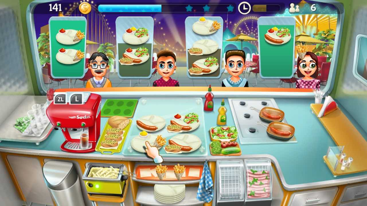 cooking truck games