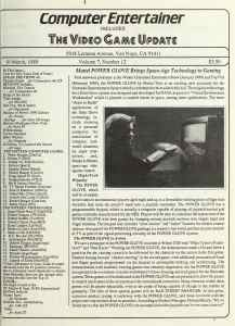 Computer Entertainer | March 1989 p1
