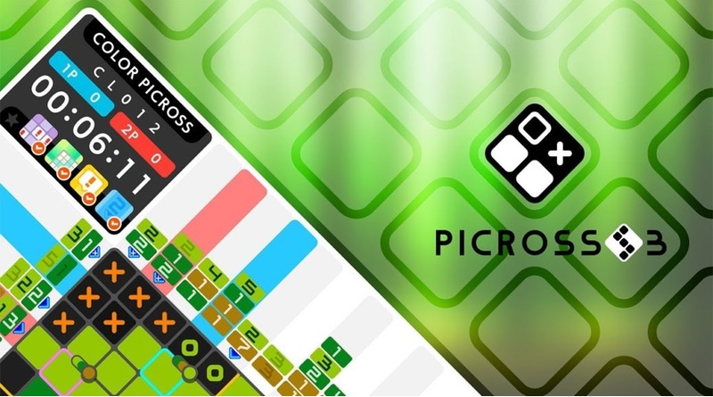 Picross S3 Adds Some Color To The Switch On April 25