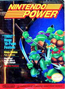 Nintendo Power | May June 1989 p1