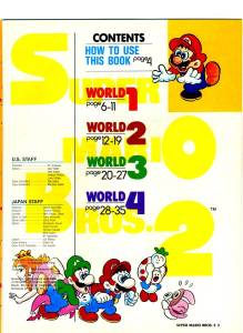 Nintendo Power | July Aug 89 | SMB 2 Hint Book - 3