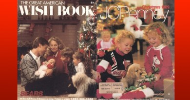 1989 Sears Wish Book & J.C. Penney Christmas Catalogs