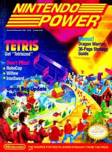 Nintendo Power | November December 1989 pg-1