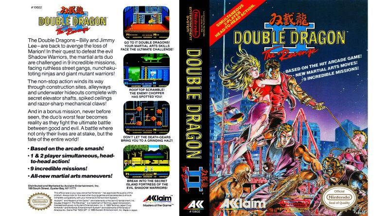Double Dragon II: The Revenge Review