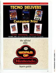 1990 World of Nintendo Buyers Guide p41