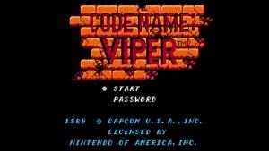 Code Name: Viper (NES) Game Hub