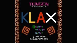 Klax (NES) Game Hub