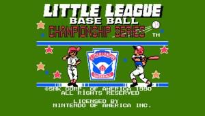 Little League Baseball Championship Series (NES) Game Hub