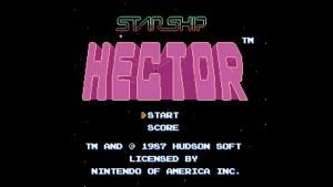 Starship Hector (NES) Game Hub