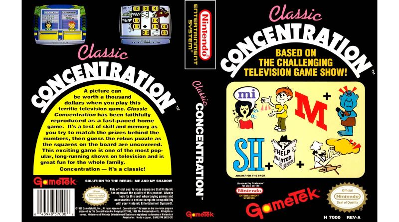 Classic Concentration Review