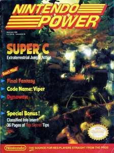 Nintendo Power   May June 1990   p001