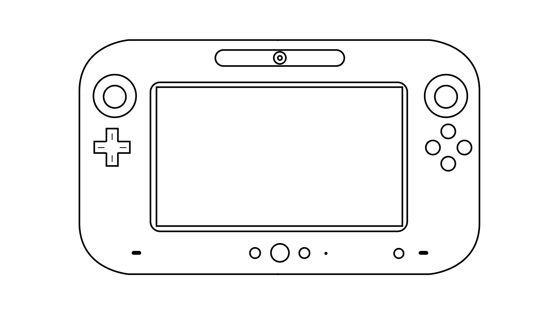 Wii Controller Coloring Pages Coloring Pages