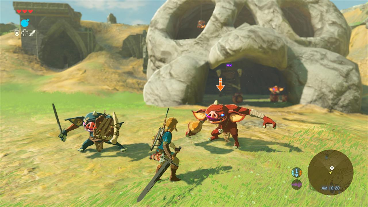 Image result for Breath of the Wild gameplay