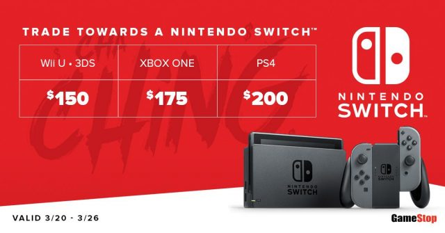 Gamestop Getting More Switch Stock On 3 22 Nintendotoday