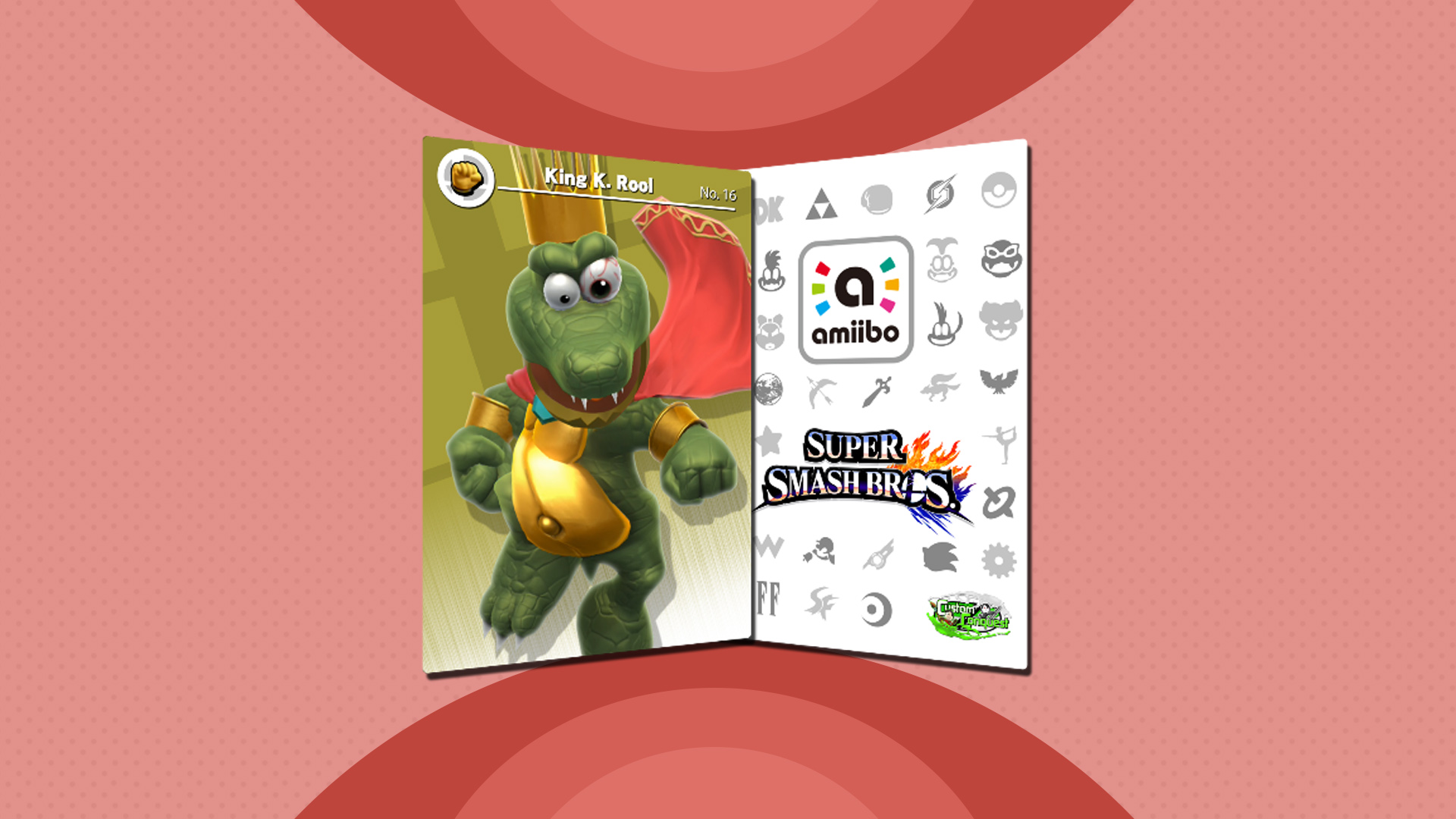 25 Days Of Custom Amiibo Cards Day 14 King K Rool