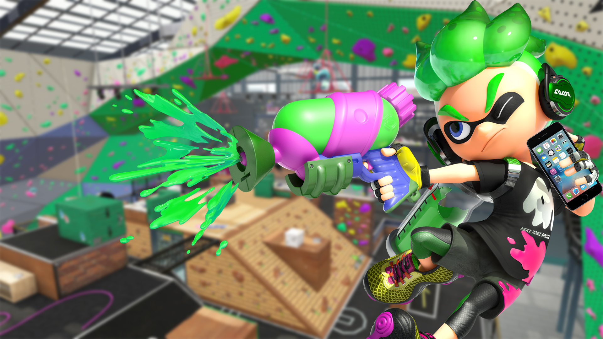 Splatoon 2 Over LTE Uses Surprisingly Little Data Nintendo Wire