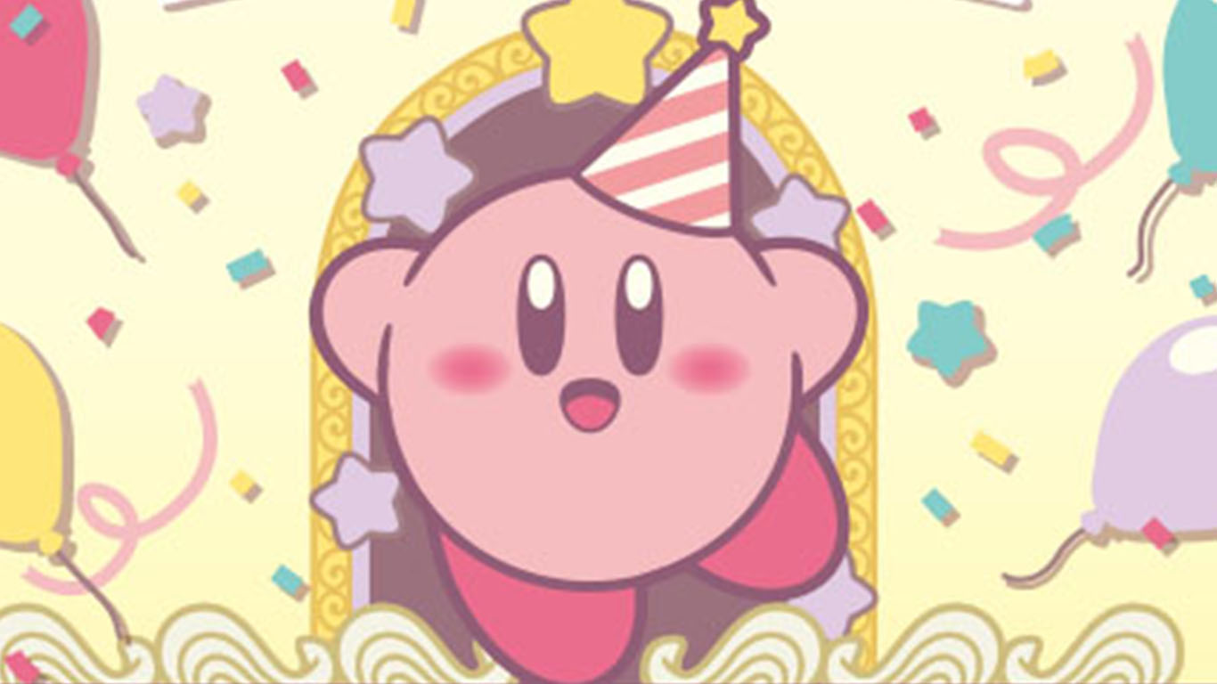 Plenty Of Kirby Anniversary Celebration Themes Coming To
