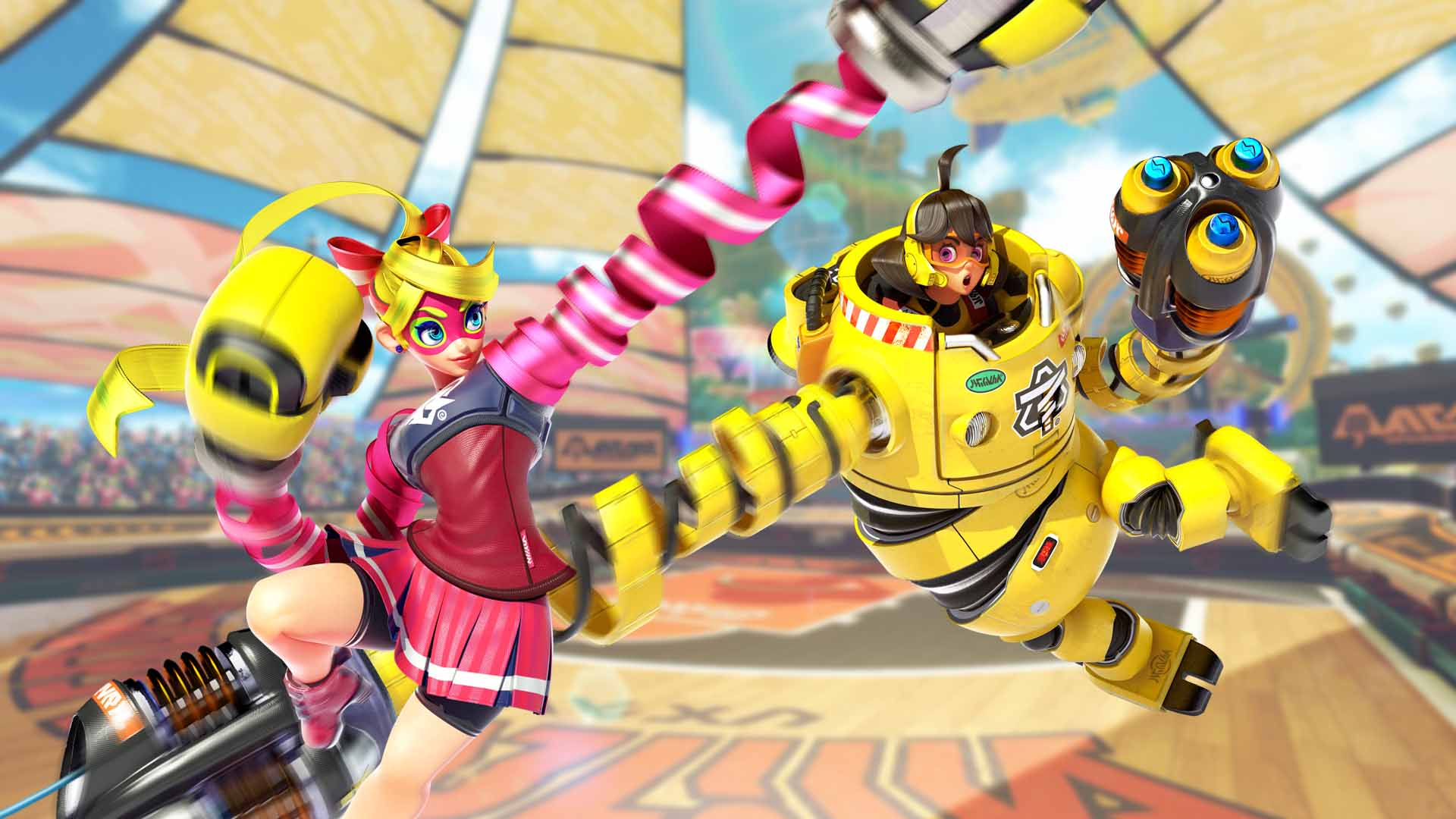 A pair of new ARMS wallpapers have been added to My
