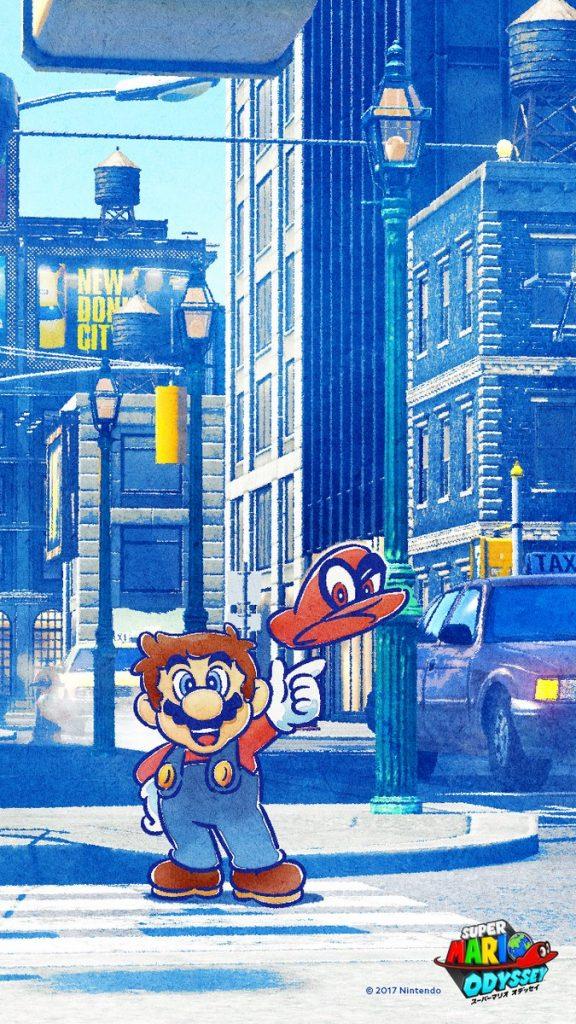 Super Mario Odyssey Wallpaper Iphone X New Super Mario Odyssey Wallpaper Shows Some Stylish New
