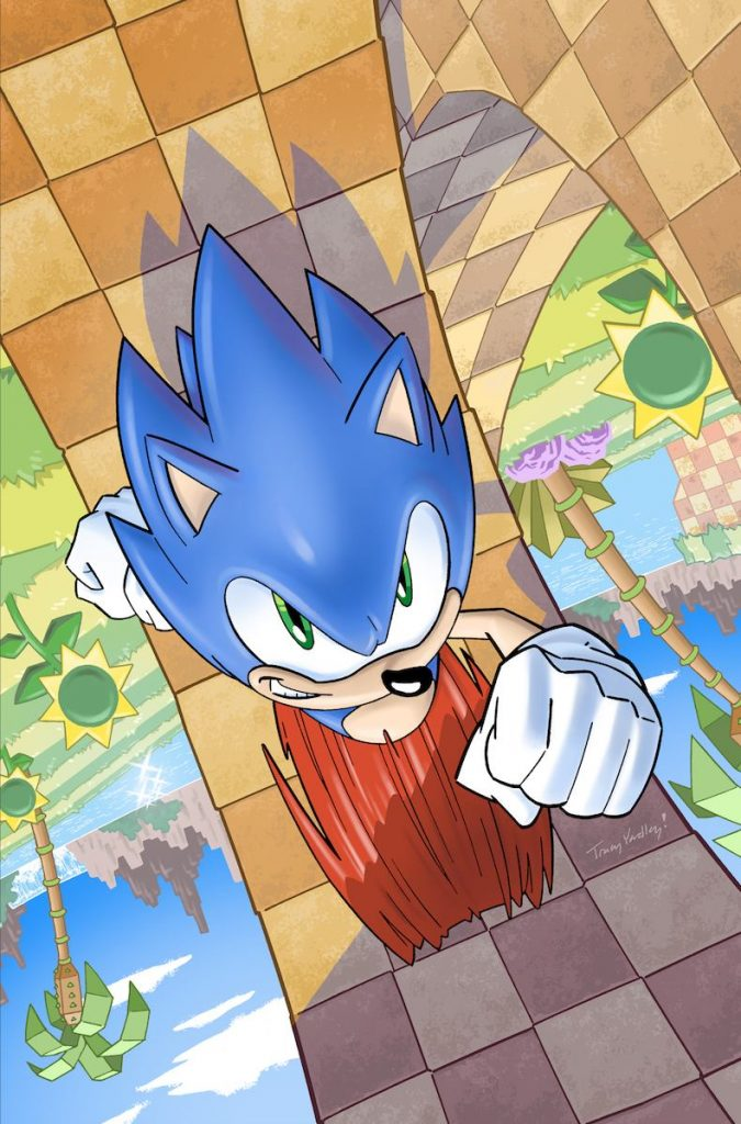 IDW Sonic News Reveals Comics Cover And More Nintendo Wire