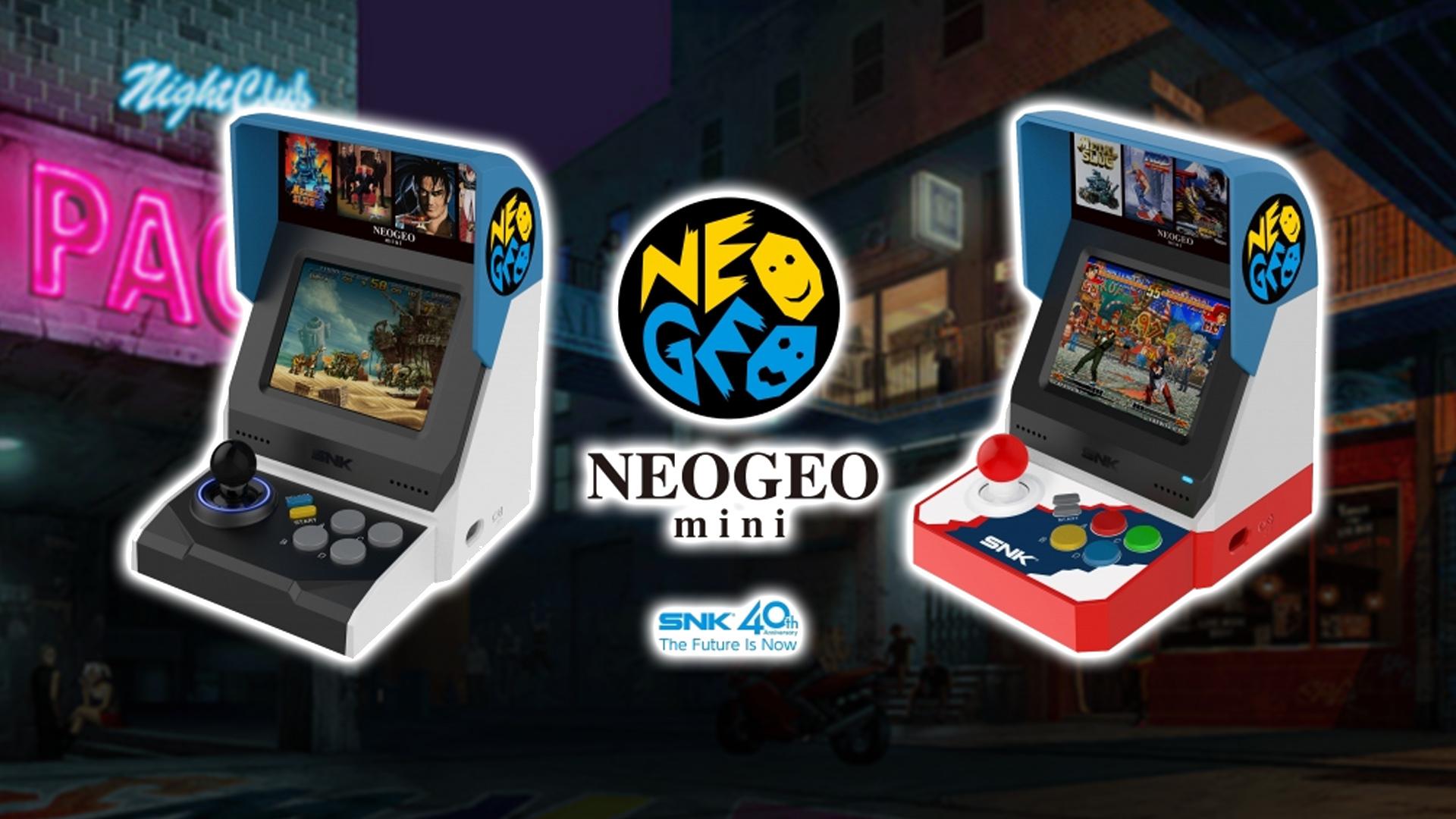 SNK officially confirms Neo Geo Mini  Nintendo Wire