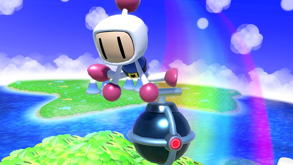 New Super Smash Bros Ultimate Screens Are All About Bomberman Nintendo Wire