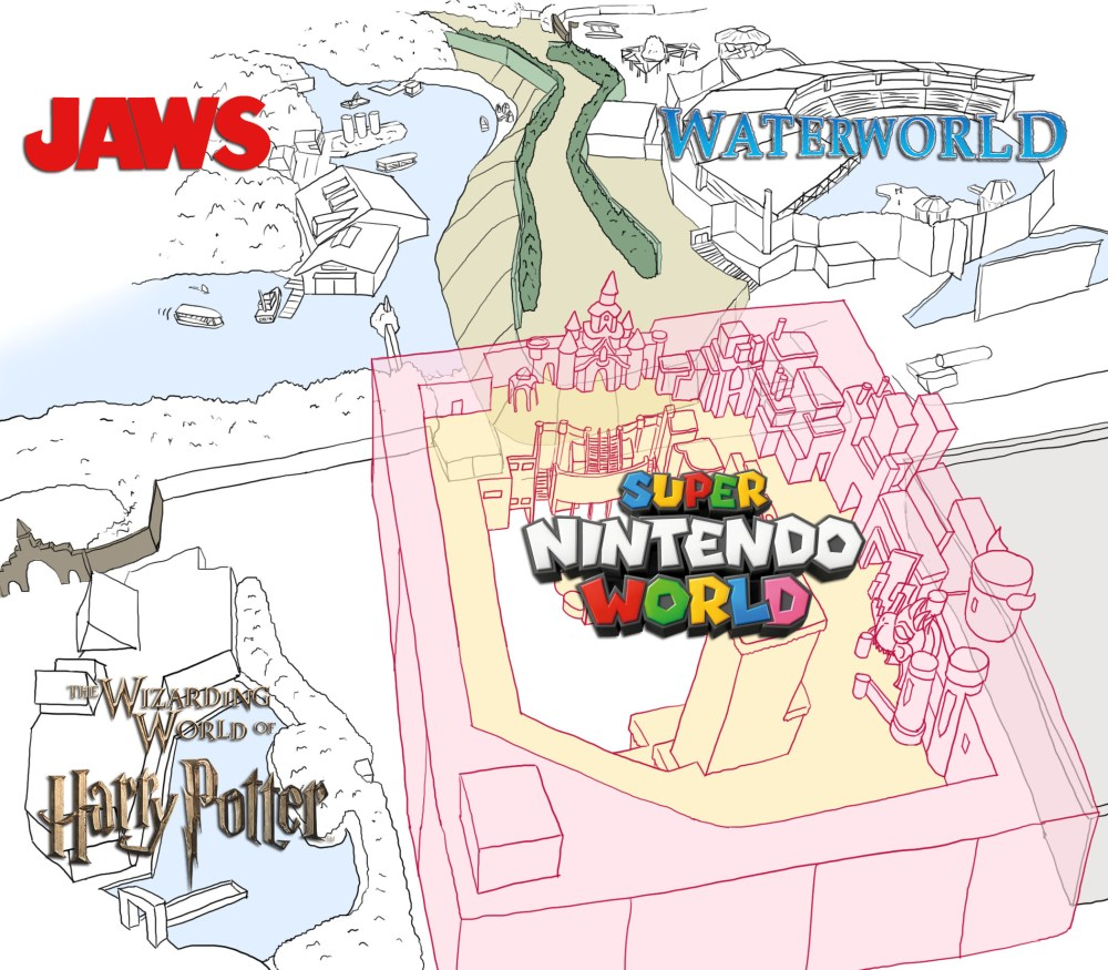 medium resolution of if these plans are accurate it will resemble what was shown in the super nintendo world teaser trailer we will update you on any new information about the