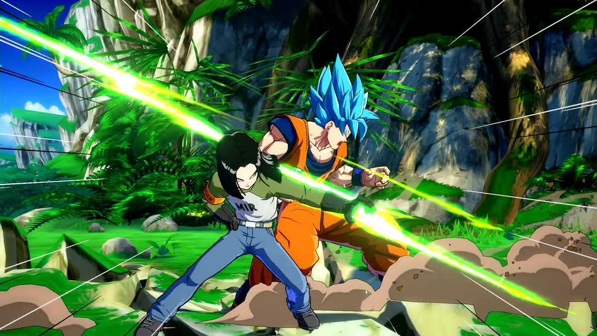 See Android 17 in action in his Dragon Ball FighterZ debut