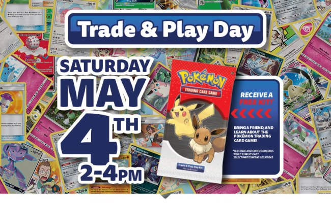 Pokémon Trade Play Day Gamestop And Best Buy Events