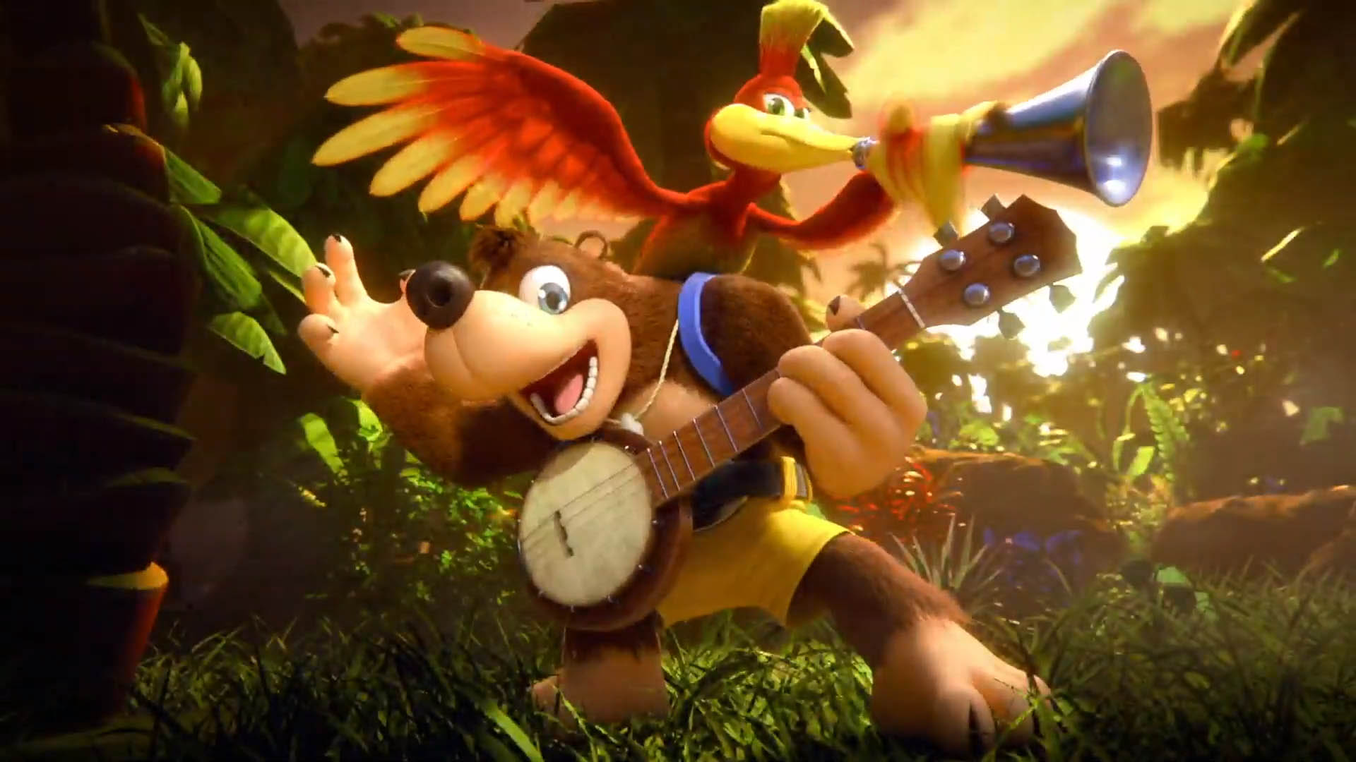 Animal Crossing Fall Wallpaper Banjo Kazooie Are Raring To Go Confirmed For Super Smash