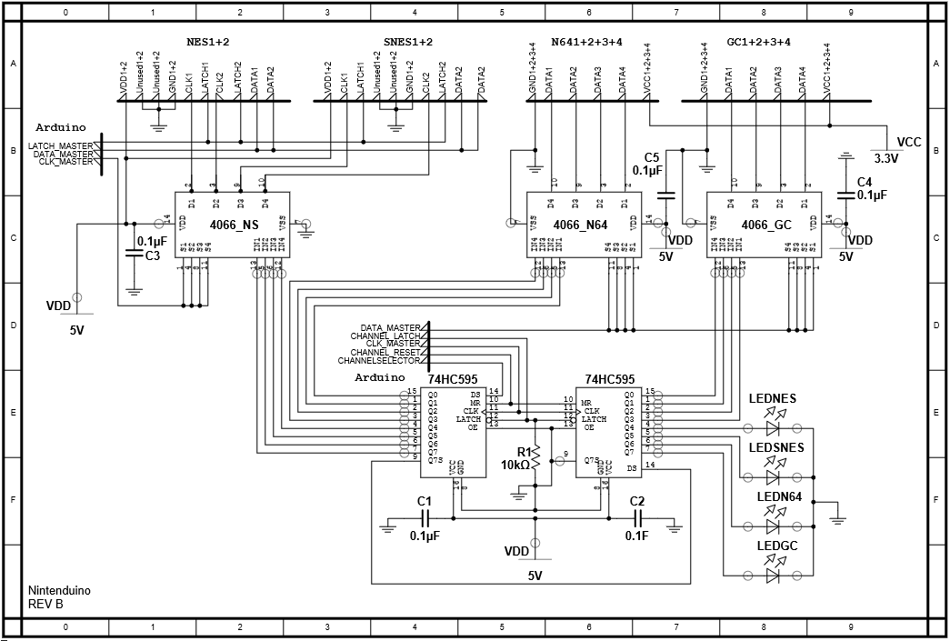 Wii Nunchuk Wiring Diagram For Wii Hookup Diagram Wiring