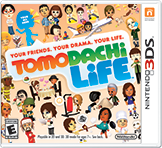 Tomodachi Life 3DS Boxart
