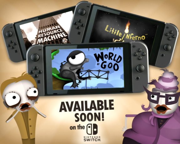 tomorrow corporation games coming to Switch