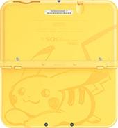 Pikachu Yellow Edition New Nintendo 3DS XL back