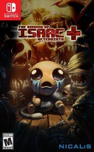 box art the binding of Isaac afterbirth+