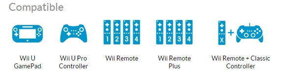 Mario vs Donkey Kong Wii U Compatible Controllers