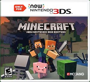 3DS Minecraft Box Art