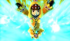 Avatar in yellow costume