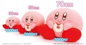 Kirby Plush Doll Size Chart
