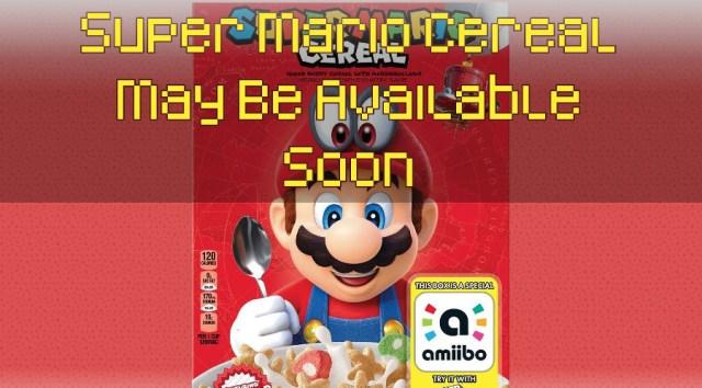 Super Mario Cereal by Kellogg's