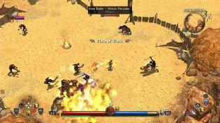 Nintendo Switch Titan Quest Screenshot