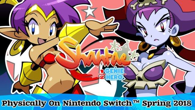 Shantae Half-Genie Hero Ultimate Day One Edition Nintendo Switch